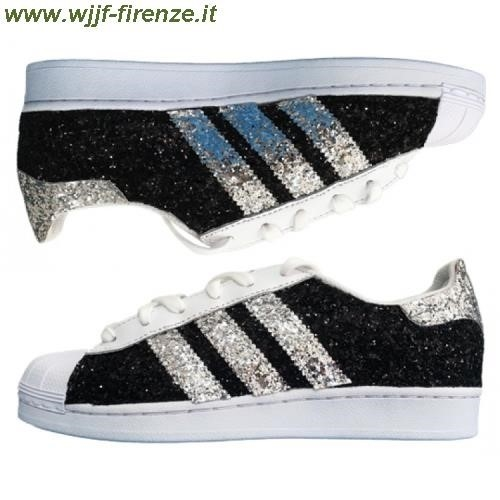 Superstar Nere Brillantinate