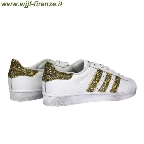 Scarpe Adidas Superstar Con Brillantini