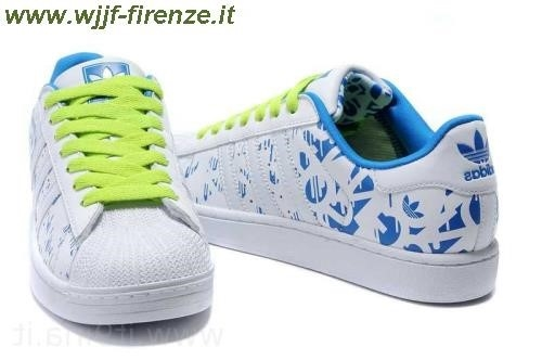 Adidas Superstar Colorate Verdi