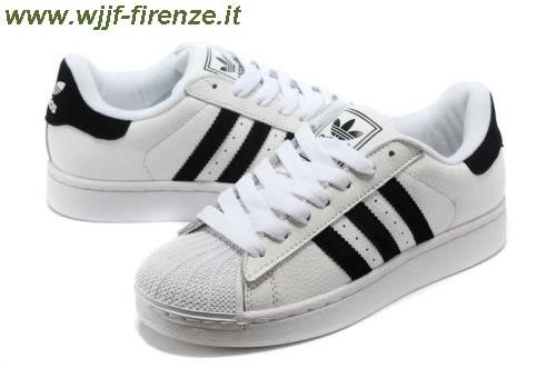 adidas nere righe bianche