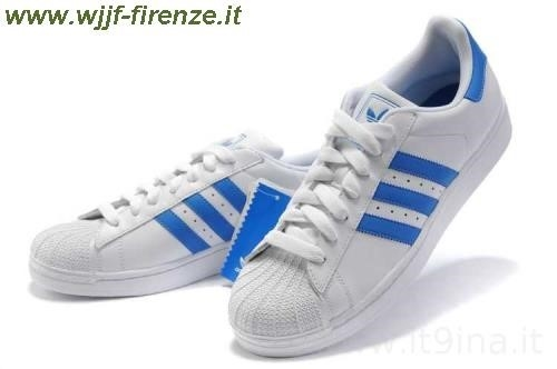 Adidas Superstar Blu Metallizzato