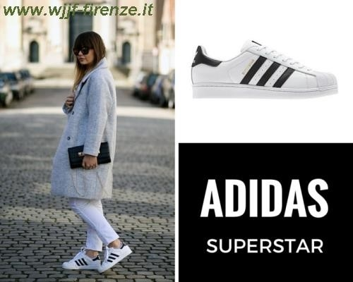 adidas nere a strisce bianche