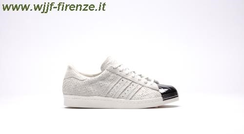 Adidas Superstar 80s Metal Toe White