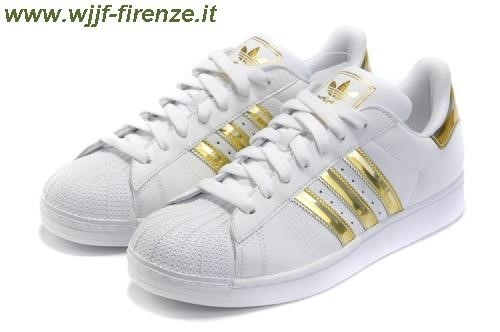 adidas superstar dorate e bianche