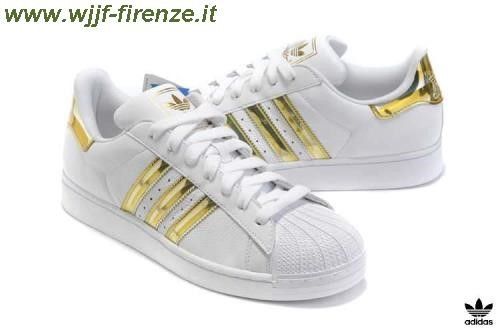 Adidas Superstar Gold White