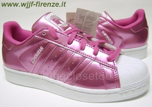Adidas Superstar Metallic Pink