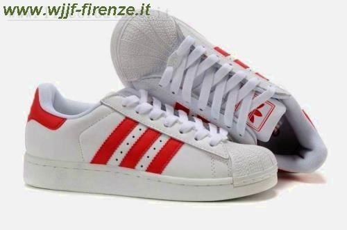 nuove adidas superstar rosse