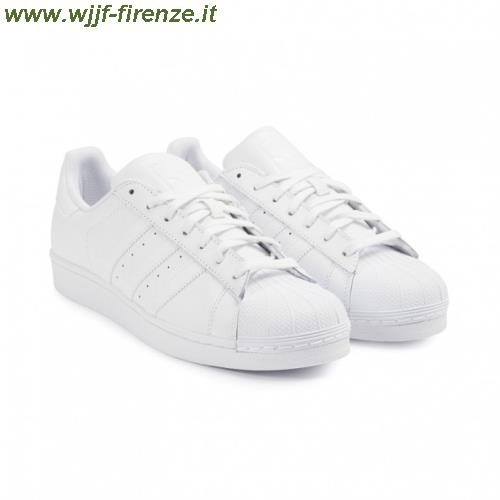 adidas superstar total white