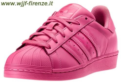 adidas superstar colorate rosse