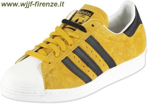 Adidas Superstar giallo