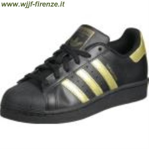 low priced 1177d 587c4 Scarpe Adidas Superstar Nere E Oro ...
