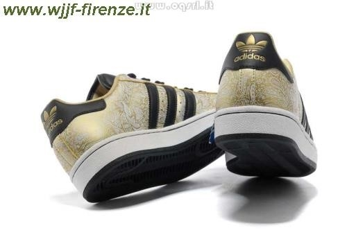 Adidas Superstar Oro Nero
