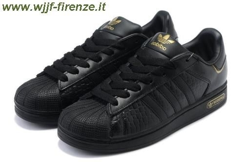 Adidas Superstar Nero