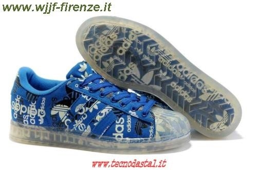 Adidas Superstar Blu Uomo